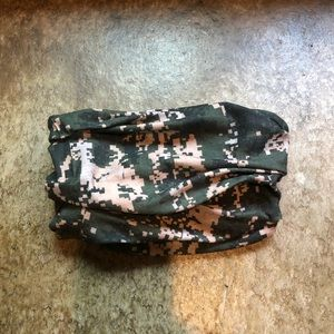 Buff - Camo Camouflage Neck Face Protector